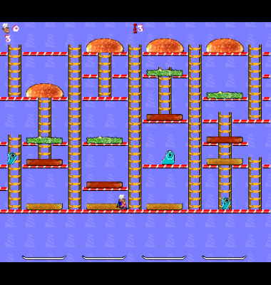 screen shot of Super Burger Time