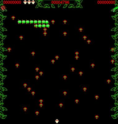 screen shot of Centipede
