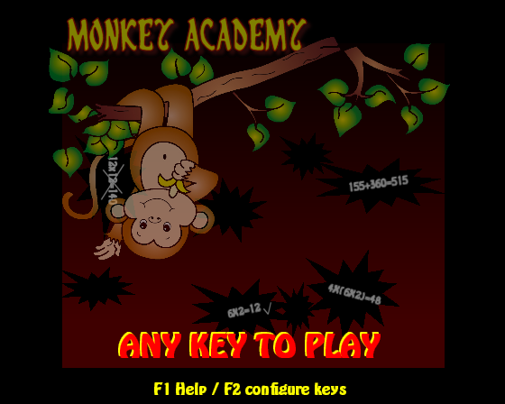 screen shot of Moneky Academy