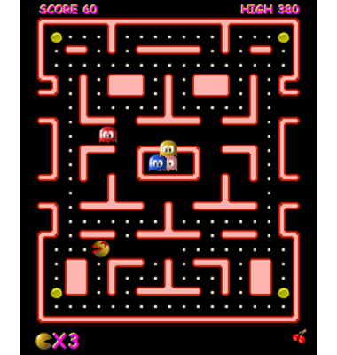 screen shot of Ms Pacman